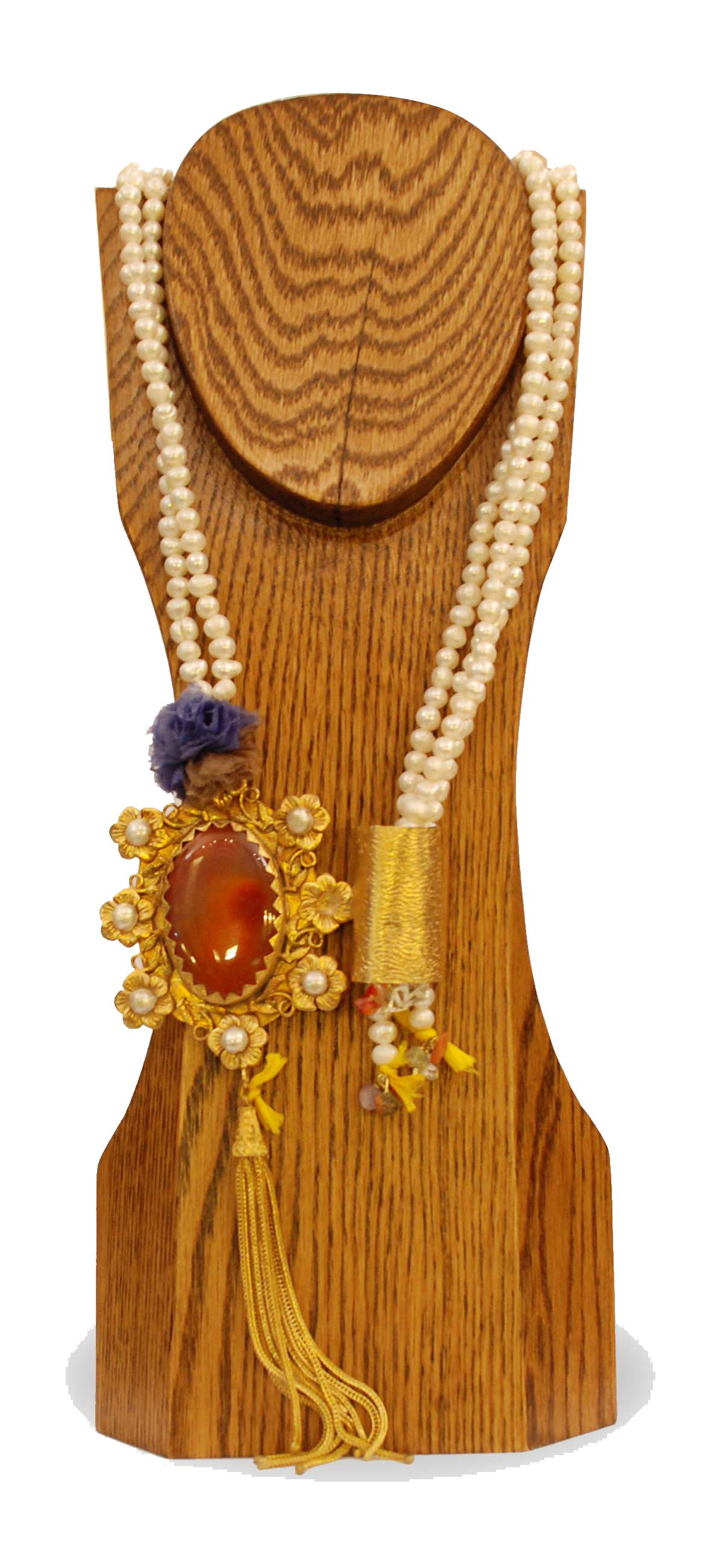 ornina handmade obizn1 pearls neck-tie