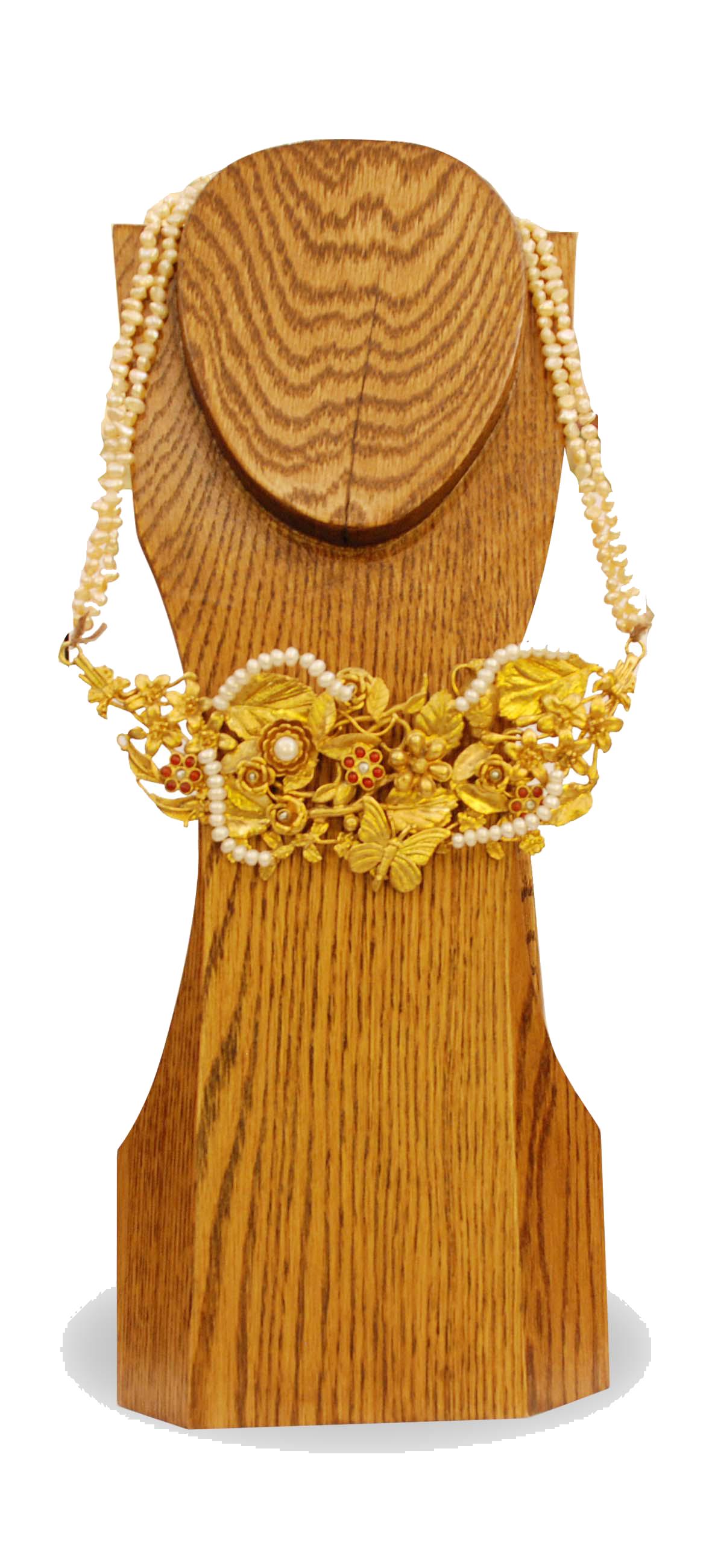 ornina handmade obizn3 pearls neck-tie
