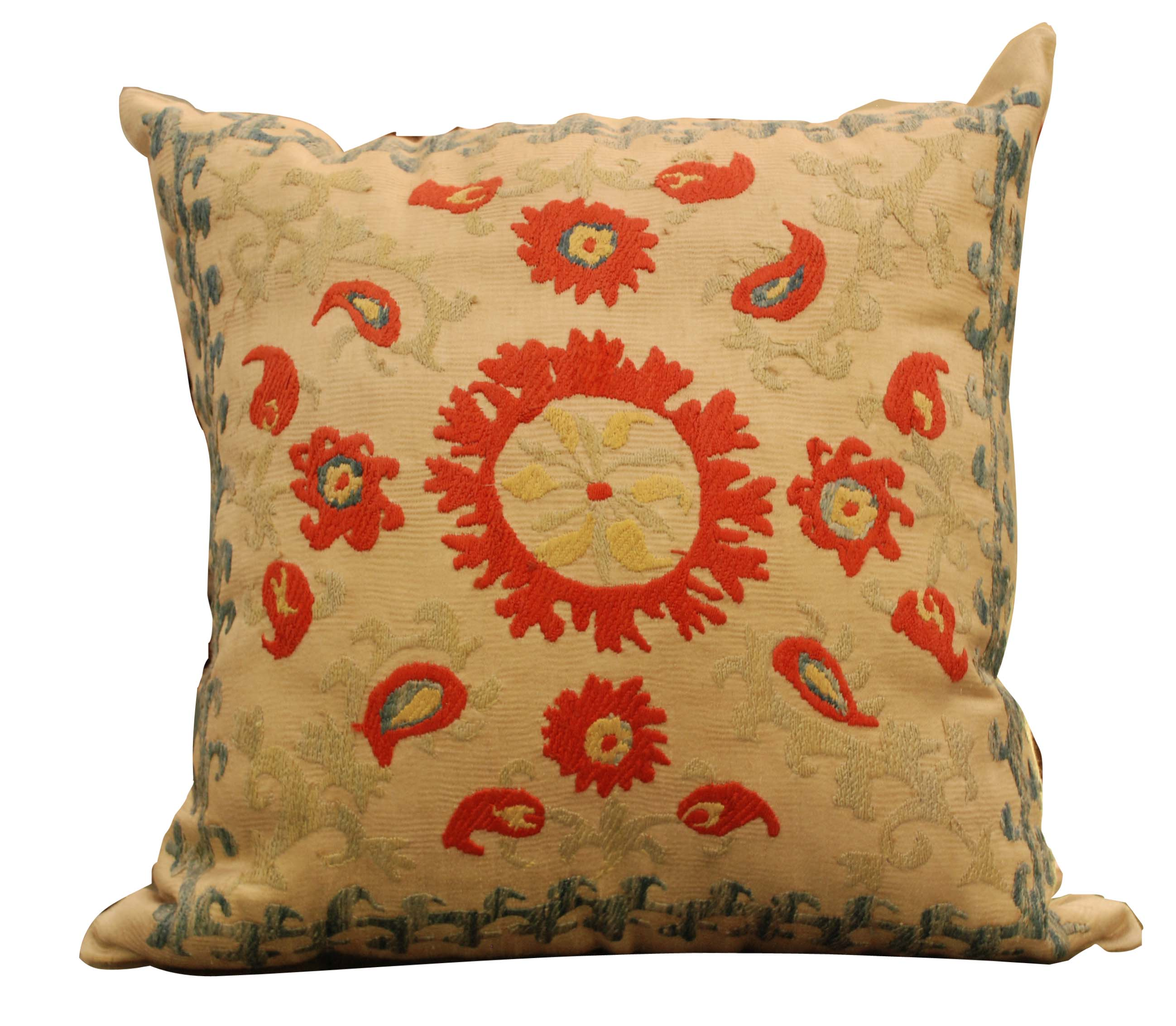ornina handmade ocu10 embroidered cushion
