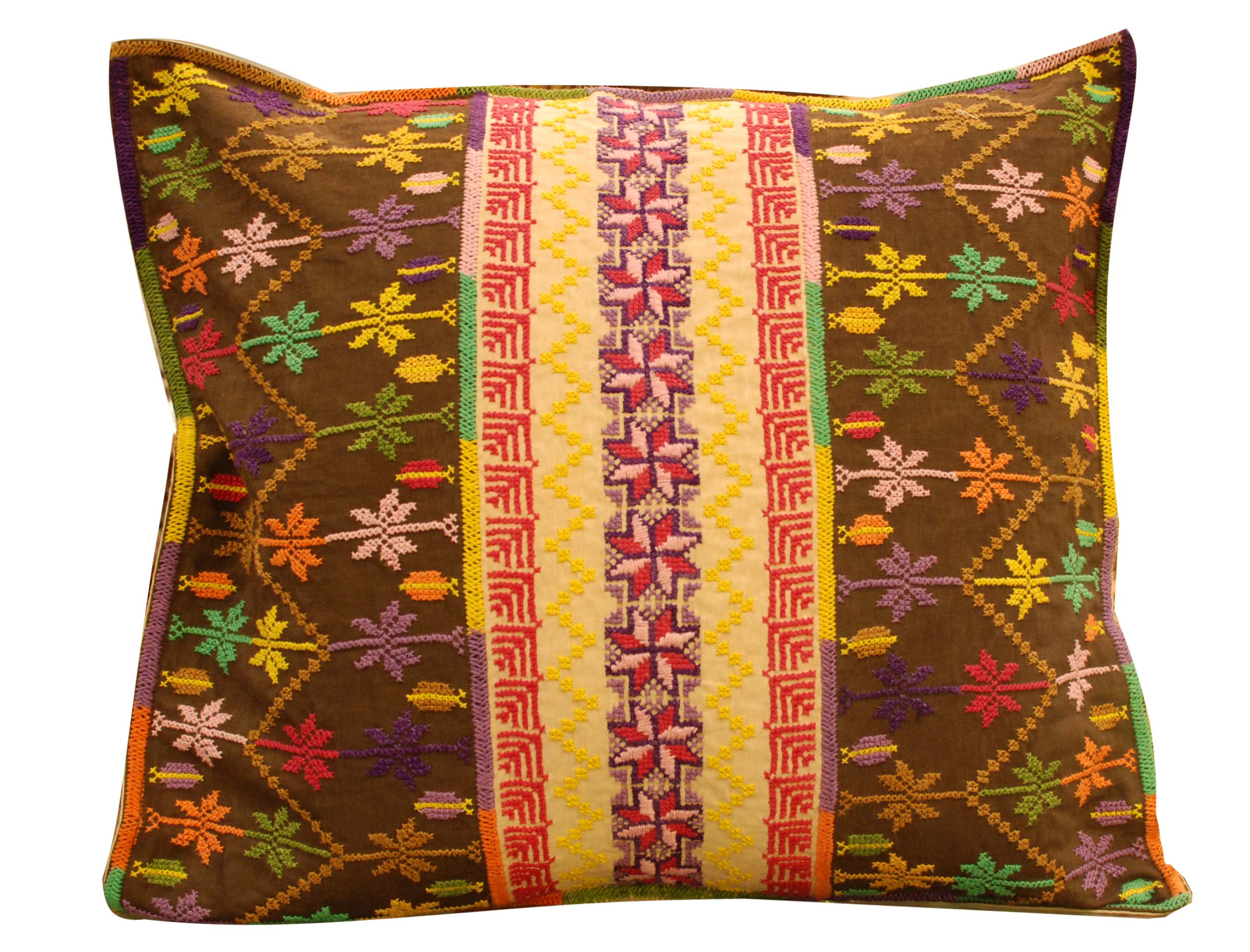 ornina handmade ocu5 needle work cushion