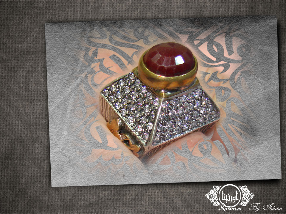 ornina handmade orr5 marquize and ruby
