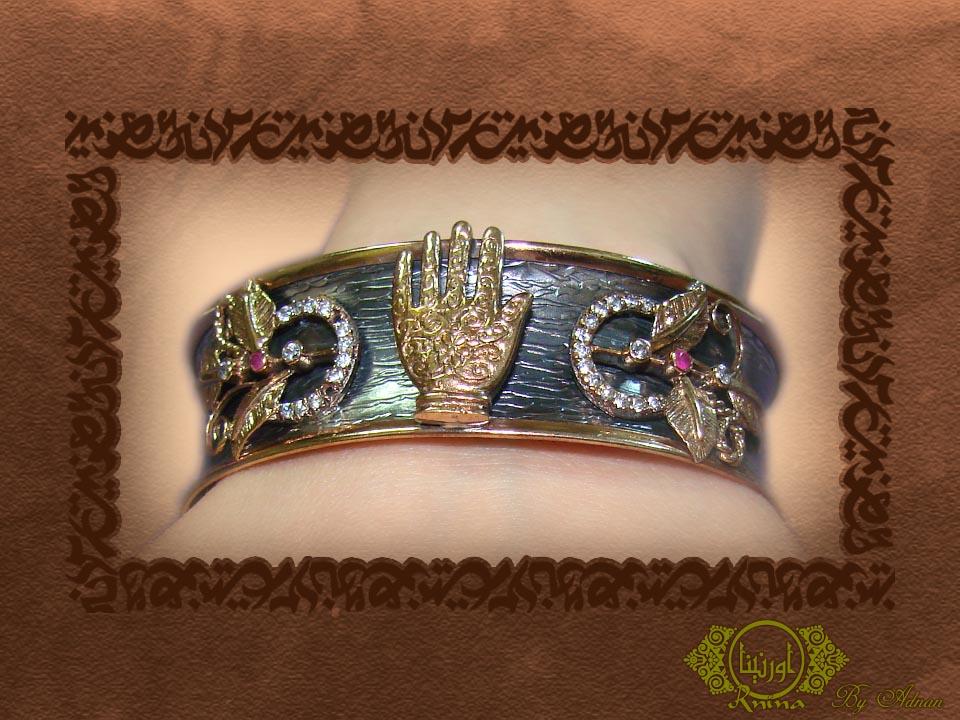 ornina handmade ob13 Fatima's hand
