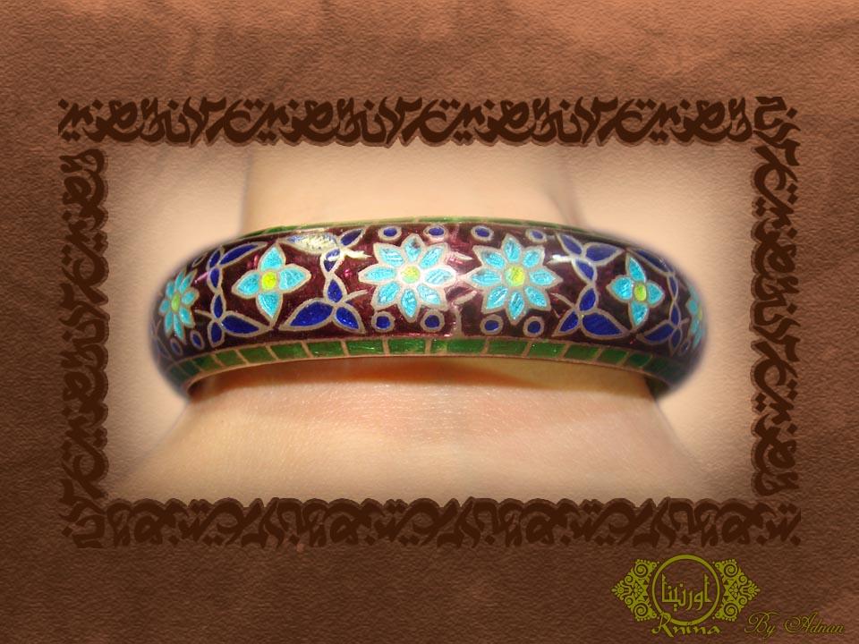 ornina handmade ob7 enamel work